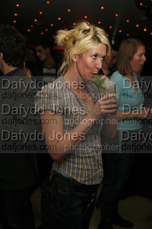 Julie Davis, First night party for Smaller  at Floridita, 100 Wardour Street W1 on Tuesday 4 AprilONE TIME USE ONLY - DO NOT ARCHIVE  © Copyright Photograph by Dafydd Jones 66 Stockwell Park Rd. London SW9 0DA Tel 020 7733 0108 www.dafjones.com