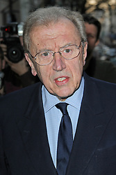 © Licensed to London News Pictures. 01/09/13 Sir David Frost dies. FILE PICTURE: Sir David Frost attends the 'Spectator Life' launch party at Asprey, London, UK. March 28, 2012. Photo credit : Richard Goldschmidt/Piqtured/LNP