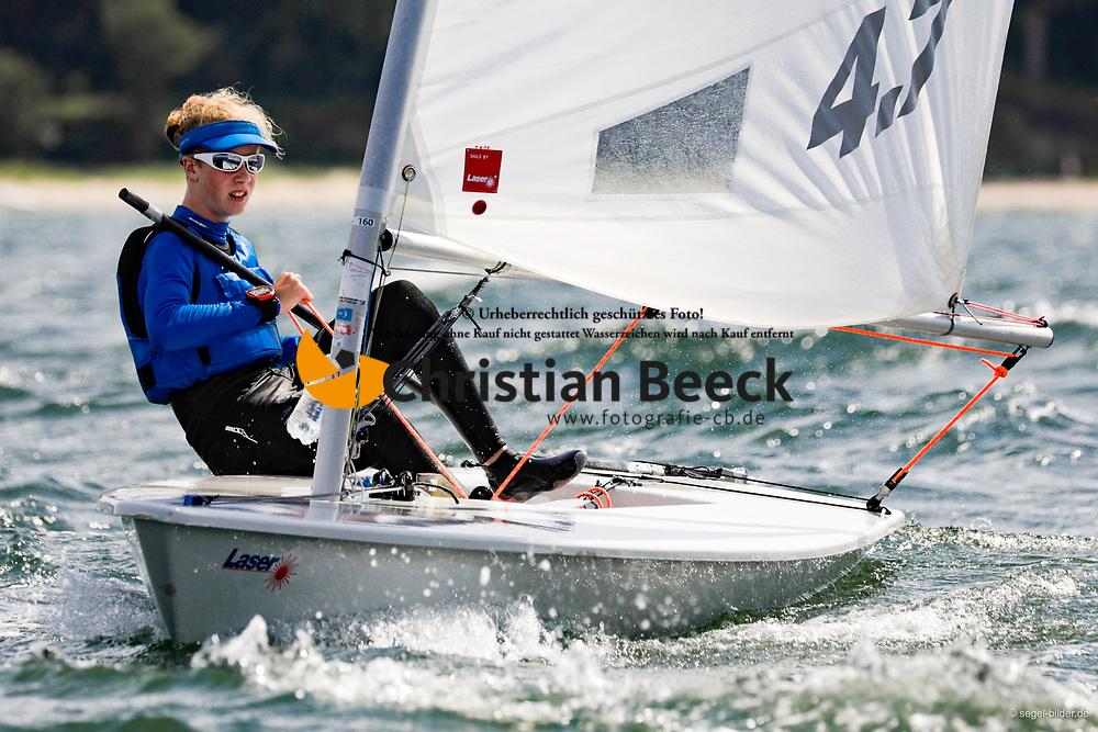 , Travemünder Woche 19. - 28.07.2019, Laser 4.7 - GER 202346 - Theo PIESKER - Yachtclub Berlin-Grünau e. V
