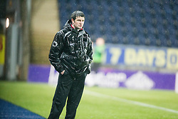Fraserburgh's manager Mark Cowie. <br /> Falkirk 4 v 1 Fraserburgh, Scottish Cup third round, played 28/11/2015 at The Falkirk Stadium.