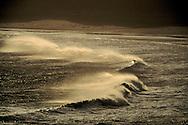 Breaking waves near shore, Crescent City, Del Norte County, California