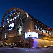 Bridgestone Arena is seen in downtown Nashville, Tennessee on Friday, November 13, 2015. (Alex Menendez via AP)