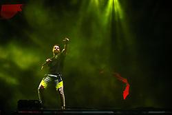 Alok durante a 25ª edição do Planeta Atlântida. O maior festival de música do Sul do Brasil ocorre nos dias 31 Janeiro e 01 de fevereiro, na SABA, praia de Atlântida, no Litoral Norte do Rio Grande do Sul. FOTO: <br /> Diego Vara/ Agência Preview