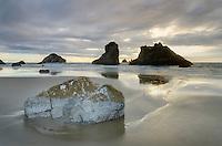 Bandon Pinnacles seastacks, Bandon Oregon