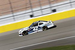 March 2, 2018 - Las Vegas, Nevada, United States of America - March 02, 2018 - Las Vegas, Nevada, USA: Kyle Larson (42) takes to the track to practice for the Boyd Gaming 300 at Las Vegas Motor Speedway in Las Vegas, Nevada. (Credit Image: © Justin R. Noe Asp Inc/ASP via ZUMA Wire)
