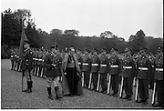 17/08/1962<br /> 08/17/1962<br /> 17 August 1962<br /> New Papal Nuncio presents credentials to the President at Aras an Uachtarain. The new Papal Nuncio His Excellency the Most Rev. Giuseppe Sensi, Titular Archbishop of Sardi. presented his Letter of Credence to President Eamon de Valera at the ceremony. Picture shows The Nuncio inspecting a Guard of Honour after the event.