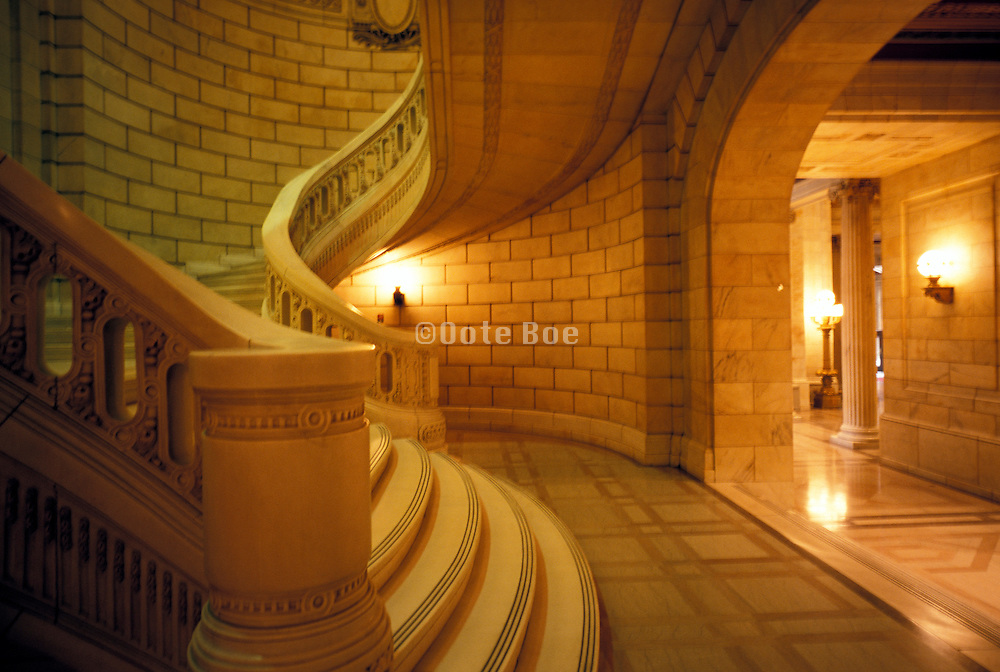 Stairs in Cleveland Justice Building