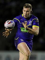 Warrington's Mike Cooper during the Betfred Super League match at the Halliwell Jones Stadium, Warrington. PRESS ASSOCIATION Photo. Picture date: Thursday February 1, 2018. See PA story RUGBYL Warrington. Photo credit should read: Richard Sellers/PA Wire. RESTRICTIONS: Editorial use only. No commercial use. No false commercial association. No video emulation. No manipulation of images.