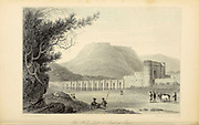 Hill Fort At Bidzee Gur From the book ' The Oriental annual, or, Scenes in India ' by the Rev. Hobart Caunter Published by Edward Bull, London 1834 engravings from drawings by William Daniell
