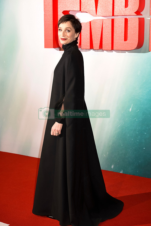 Kristin Scott Thomas attends the Tomb Raider European Premiere at the Vue West End, London.  Picture date: Tuesday 6th March 2018.  Photo credit should read:  David Jensen/ EMPICS Entertainment
