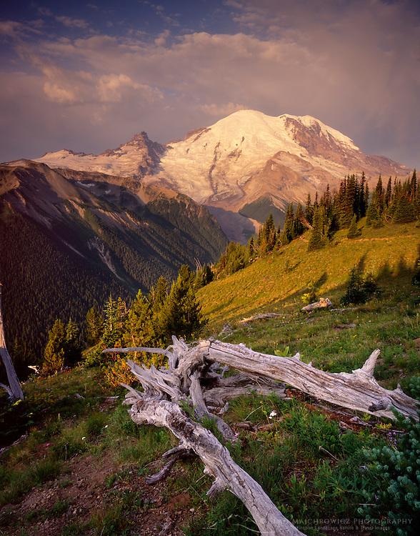 Sunrise on Mount Rainier, Mount Rainier National Park Washington
