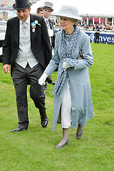 HRH PRINCESS ALEXANDRA at the Investec Derby at Epsom Racecourse, Epsom, Surrey on 4th June 2016.