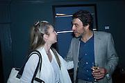 VANJA KARAS; DERRICK SANTINI, In Your Mind by Derrick Santini, Private view. Pertwee, Anderson and Gold. Bateman St. Soho. 11 June 2015