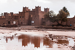 Flooding at Kasbah Amridil, Morocco