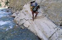 Nepal - porteurs - Les routiers de l'Himalaya
