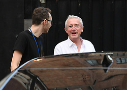 Louis Walsh outside the Hammersmith Apollo, London, ahead of the final of Britain's Got Talent.