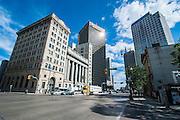 Downtown Winnipeg and the Exchange District, Winnipeg, Manitoba, Canada