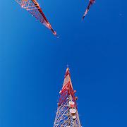 Radio Towers in Seattle, WA