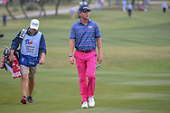 Trey Mullinax (USA) approaches the 18th green during Round 3 of the Valero Texas Open, AT&T Oaks Course, TPC San Antonio, San Antonio, Texas, USA. 4/21/2018.<br /> Picture: Golffile   Ken Murray<br /> <br /> <br /> All photo usage must carry mandatory copyright credit (© Golffile   Ken Murray)