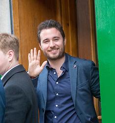 Jonathan Littlejohn. Harry and Meghan's arriving for their visit to Social Bite in Edinburgh.