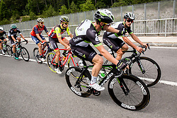 Mark Renshaw (AUS) of Team Dimension Data and Nathan Haas (ESP) of Team Dimension Data during Stage 1 of 24th Tour of Slovenia 2017 / Tour de Slovenie from Koper to Kocevje (159,4 km) cycling race on June 15, 2017 in Slovenia. Photo by Vid Ponikvar / Sportida