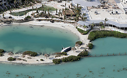 September 14, 2017 - Duck Key, Florida, U.S. - Not all boats were spared after Hurricane Irma hit the Florida Keys. (Credit Image: © Mike Stocker/Sun-Sentinel via ZUMA Wire)