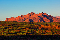 Near Horseshoe Bend on the Colorado River at sunrise, near Page, Arizona USA