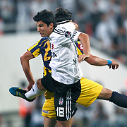 Besiktas's Necip UYSAL during their Turkish superleague soccer match Besiktas between MKE Ankaragucu at BJK Inonu Stadium in Istanbul Turkey on Monday, 19 September 2011. Photo by TURKPIX
