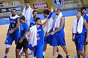 DESCRIZIONE : Tbilisi Nazionale Italia Uomini Tbilisi City Hall Cup Italia Italy Lettonia Latvia<br /> GIOCATORE : Alessandro Gentile<br /> CATEGORIA : postgame esultanza<br /> SQUADRA : Italia Italy<br /> EVENTO : Tbilisi City Hall Cup<br /> GARA : Italia Lettonia Italy Latvia<br /> DATA : 14/08/2015<br /> SPORT : Pallacanestro<br /> AUTORE : Agenzia Ciamillo-Castoria/A.Scaroni<br /> Galleria : FIP Nazionali 2015<br /> Fotonotizia : Tbilisi Nazionale Italia Uomini Tbilisi City Hall Cup Italia Italy Lettonia Latvia
