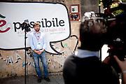 Giuseppe Civati alla Leopolda rossa a Livorno.<br />  Livorno 13 luglio 2014 Daniele Stefanini /  OneShot