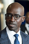 Malusi Gigaba, Minister of Finance<br /> Ministry of Finance of South Africa at the World Economic Forum on Africa 2017 in Durban, South Africa. Copyright by World Economic Forum / Greg Beadle