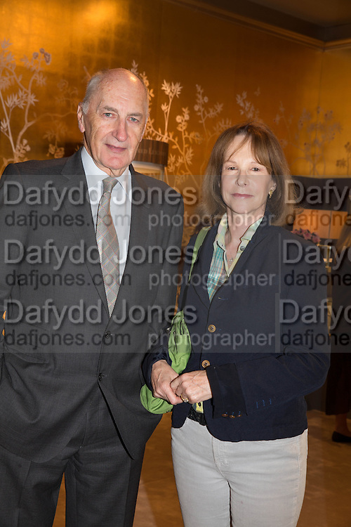 SIR PETER AND LADY OSBORNE- IN THE FAIR.- Lunch at the Ivy Club pop up-restaurant during the preview of Masterpiece Art Fair. Co-hosted by  Count & Countess Filippo Guerrini-Maraldi, and Lord<br /> Dick Daventry. 26 June 2013