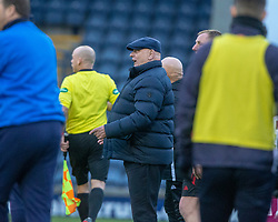 Arbroath's manager Dick Campbell. Raith Rovers 0 v 1 Arbroath. Scottish Football League Division One game played 16/2/2109 at Stark's Park.