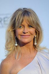 Goldie Hawn arriving at the AmfAR Gala, during the 64th Cannes International Film Festival, at the Hotel du Cap, in Cannes, France.