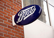 Boots sign, Colchester, Essex