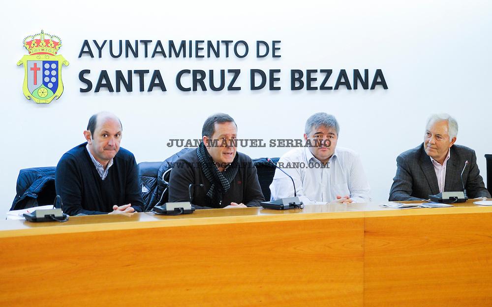 20-12-2016 SANTANDER<br /> recepción Ayuntamiento de Bezana<br />  con las federaciones Cantabra , gallega y navarra de futbol <br /> <br /> Fotos: Juan Manuel Serrano Arce