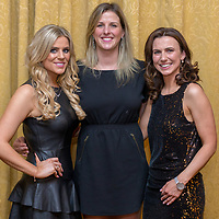 Diana and Lourda Sexton from Mullagh and Michelle Morrisson from Toronto, Cananda at the 2017 Limousine Ball held in the Bellbridge Hotel, Spanish Point