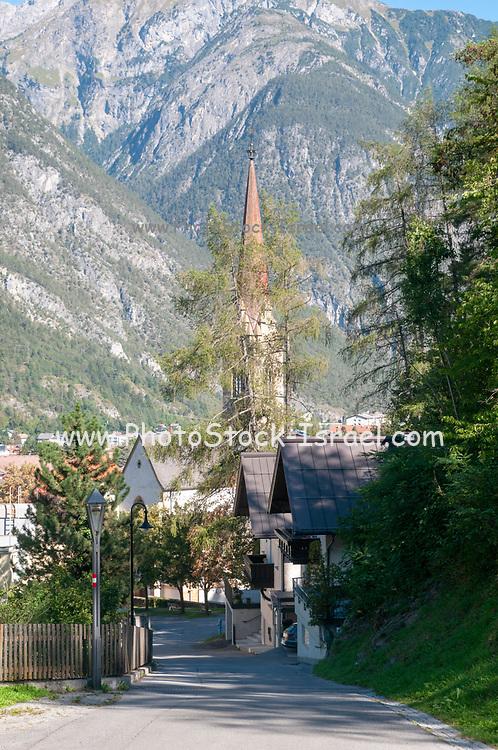 Exterior of the Catholic Church, Landeck, Tirol, Austria