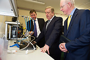 11/07/2017  REPRO FREE:    Dr. Eugene McCarthy MET Technology Manager GMIT, Minister of State Pat Breen,   Department of Enterprise and Innovation,  Barry Egan Enterprise Ireland .Photo:Andrew Downes, xposure .