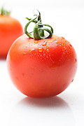 whole tomato on white Background