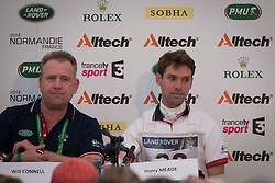 Harry Meade, (GBR), Will Conner, (GBR) - Eventing Cross Country test- Alltech FEI World Equestrian Games™ 2014 - Normandy, France.<br /> © Hippo Foto Team - Dirk Caremans<br /> 30/08/14
