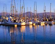 Fishing Boats in Bodega Harbor,Bodega Bay, California