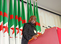 ALGIERS, Dec. 14, 2010  Zambia's first president Kenneth Kaunda addresses the opening ceremony of the International Conference Celebrating the 50th Anniversary of the UN Resolution 1514, in Algiers, capital of Algeria, Dec. 13, 2010. The International Conference Celebrating the 50th Anniversary of the UN Resolution 1514, declaration on the Granting of Independence to Colonial Countries and Peoples on Dec. 14, 1960, was held in Algiers on Monday. (Credit Image: © Xinhua via ZUMA Wire)