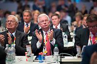 DEU, Deutschland, Germany, Leipzig, 22.11.2019: Roland Koch (CDU) beim Bundesparteitag der CDU in der Messe Leipzig.