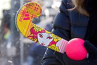 LAREN - Hockey - Adidas hockeystick met plaatjes  voor kinderen. COPYRIGHT KOEN SUYK