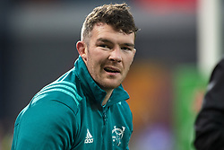 January 19, 2019 - Limerick, Ireland - Peter O'Mahony of Munster during the Heineken Champions Cup match between Munster Rugby and Exeter Chiefs at Thomond Park in Limerick, Ireland on January 19, 2019  (Credit Image: © Andrew Surma/NurPhoto via ZUMA Press)