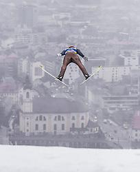 22.02.2019, Bergiselschanze, Innsbruck, AUT, FIS Weltmeisterschaften Ski Nordisch, Seefeld 2019, Nordische Kombination, Skisprung, im Bild Vinzenz Geiger (GER) // Vinzenz Geiger of Germany during the Ski Jumping competition for Nordic Combined of FIS Nordic Ski World Championships 2019. Bergiselschanze in Innsbruck, Austria on 2019/02/22. EXPA Pictures © 2019, PhotoCredit: EXPA/ JFK