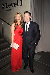 PIERS MORGAN and CELIA WALDEN at The Love Ball hosted by Natalia Vodianova and Lucy Yeomans to raise funds for The Naked Heart Foundation held at The Round House, Chalk Farm, London on 23rd February 2010.