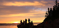 The Bass Harbor Head Light, a classic New England lighthouse, Bass Harbor, Maine, USA - Acadia National Park