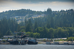 Ferry Terminal, Langdale, Sunshine Coast, British Columbia, Canada